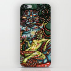 Mentalice and the Caterpillar iPhone & iPod Skin