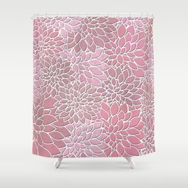 Floral Abstract 27 Shower Curtain