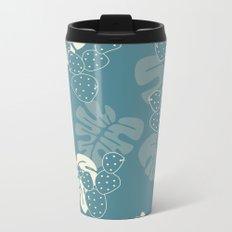 Tropical pattern 059 Metal Travel Mug
