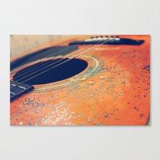 Teardrops on my Guitar Canvas Print