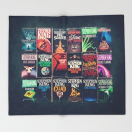 12d01ec99a2 King of Horror 2 Throw Blanket