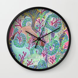 Alien Organism 11 Wall Clock