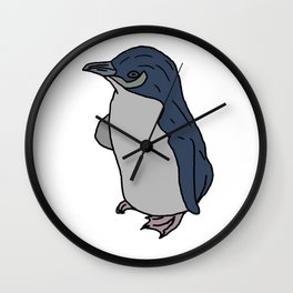 Australian Little Blue Penguin Wall Clock