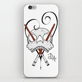 Dead Love Art Logo iPhone Skin