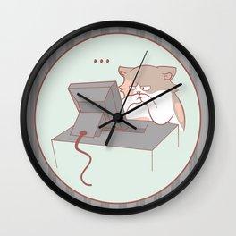 Hrm. Wall Clock
