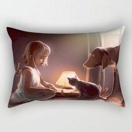 Coexistence Rectangular Pillow