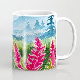 Beautiful watercolour landscape Coffee Mug