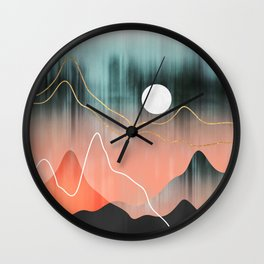 Mountainscape 2 Wall Clock