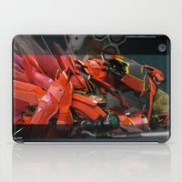 gundam iPad Cases featuring Aesalson - MG Sinanju Conversion by chocofalcon