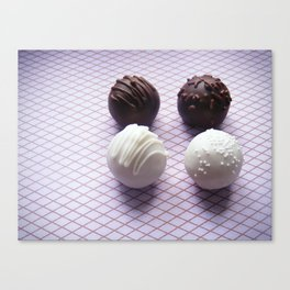 Cake Truffles: Classics Edition Canvas Print