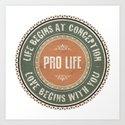 Pro Life by politics