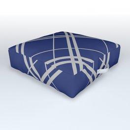 Ravenclaw Argyle Outdoor Floor Cushion
