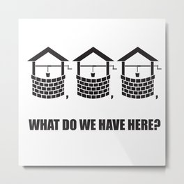 What do we have here? Metal Print