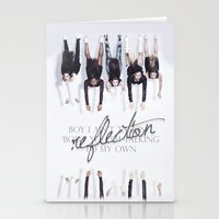 fifth harmony Stationery Cards featuring Reflection Harmony by Leticia