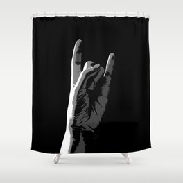 Rock On! Shower Curtain