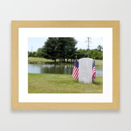 The Forgotten Solider Framed Art Print