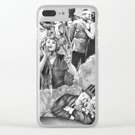 The Hawthorn in the Hands of the Dead (75) Clear iPhone Case