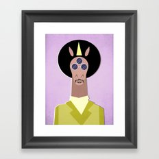 3rd Eye Unicorn Framed Art Print
