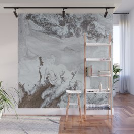 Winter Copper Wall Mural