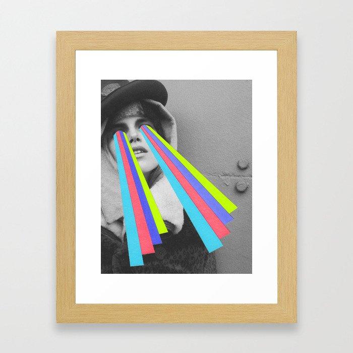 Bright Eyes (2) Framed Art Print