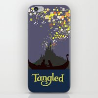 tangled iPhone & iPod Skins featuring Tangled by TheWonderlander