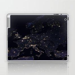 Europe at Night Laptop & iPad Skin