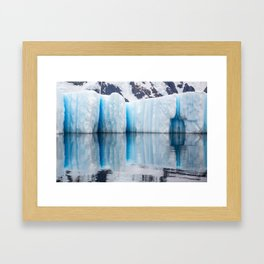 Antarctic Ice - Limited to 10 prints in ANY size! Framed Art Print