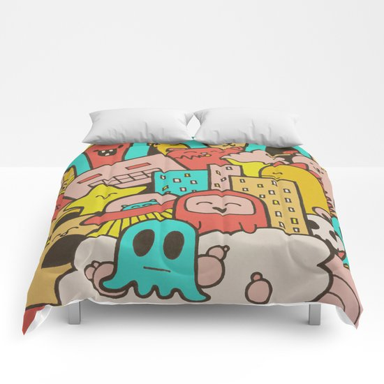 Doodleicious Comforters