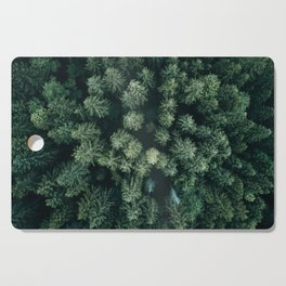 Forest from above - Landscape Photography Cutting Board