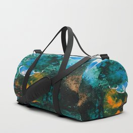 Mini World Environmental Blues 4 Duffle Bag
