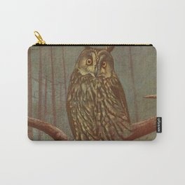 Vintage Illustration of an Owl (1902) Carry-All Pouch
