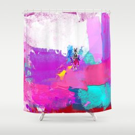 polo abstract Shower Curtain