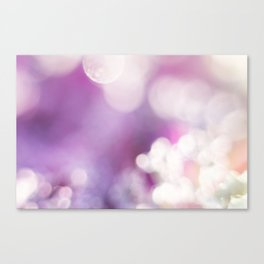 Sparkling In Pink Canvas Print