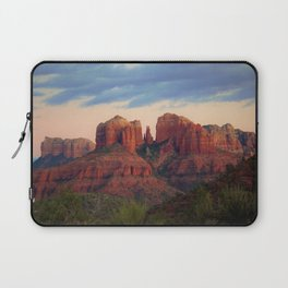 Moody Sedona Landscape by Reay of Light Laptop Sleeve