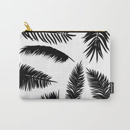 Palm Leaves Silhouette Carry-All Pouch