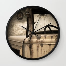 Days Gone By Wall Clock