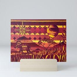 Safari Mini Art Print