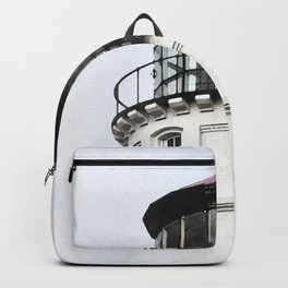 Umpqua Lighthouse Watercolor Backpack