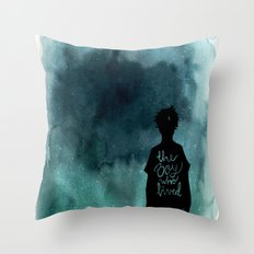 the boy Throw Pillow