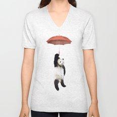 Pandachute Unisex V-Neck