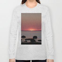 Last Sliver of Sun Light Long Sleeve T-shirt