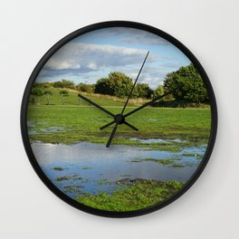 Over the Hills and far away... Wall Clock