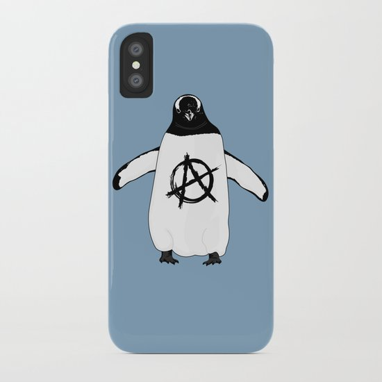 Anarchy in the Antarctic iPhone Case