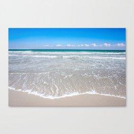 Paradise is the Beach Canvas Print