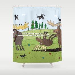 Elks Shower Curtain