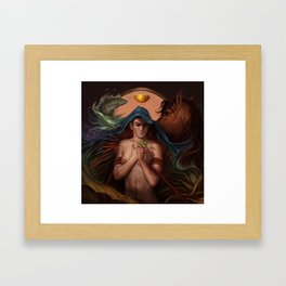 The God of Mischief  Framed Art Print