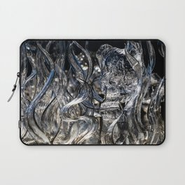 Wisps Glass Sculpture Laptop Sleeve