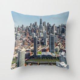 Beautiful Chicago Throw Pillow