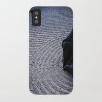 zen iPhone & iPod Cases featuring Zen by Michelle McConnell