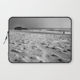 Woman at the beach Laptop Sleeve